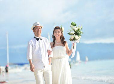 2018年1月24日(水)I様ご夫妻【ボラカイ島ウェディングフォト】