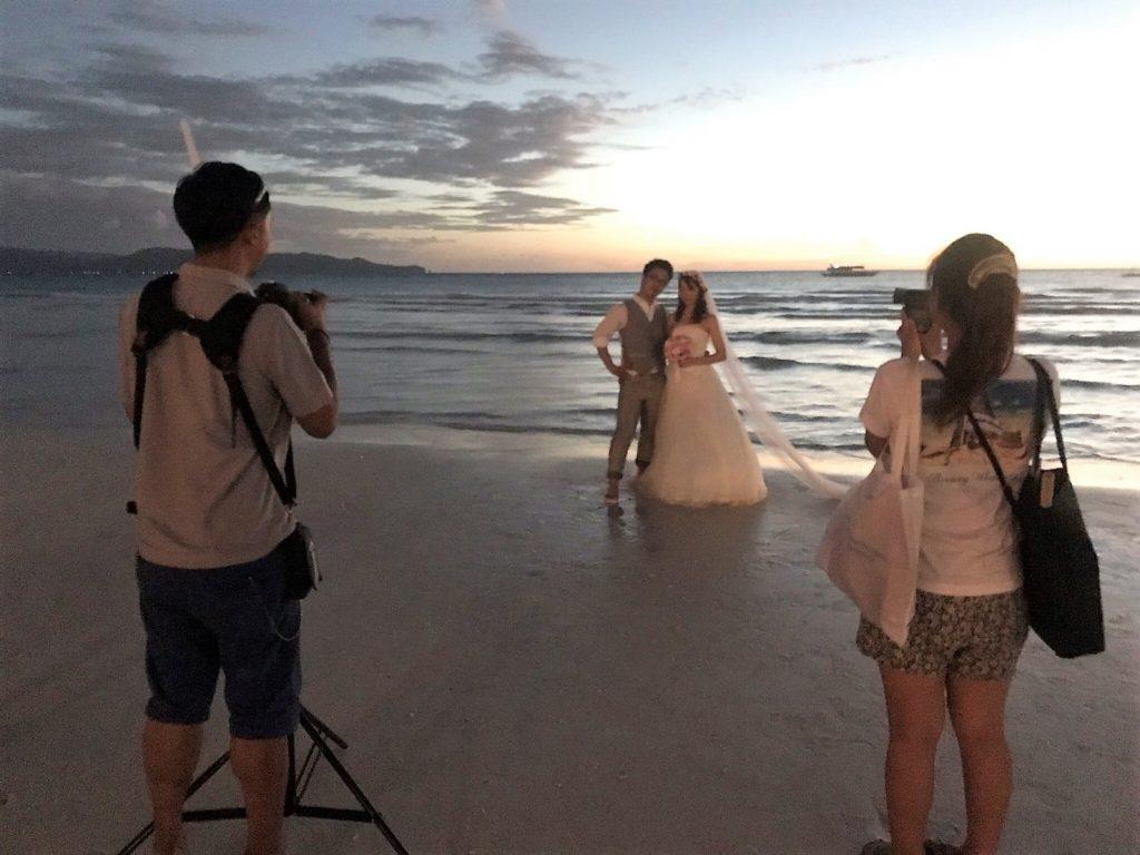 【ボラカイ島で写真撮影するには必ず営業許可証(PERMIT)が必要です】