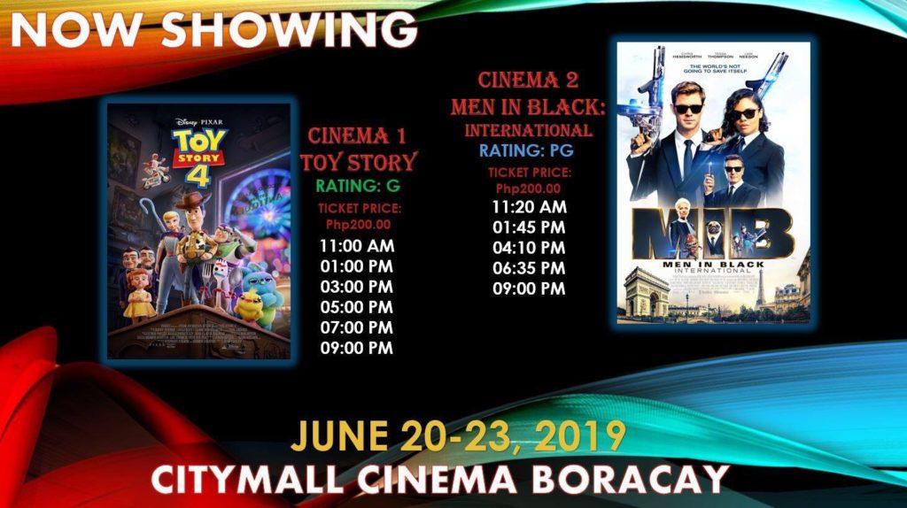 【ボラカイ島にも映画館あります・・・】トイストーリ4上映中