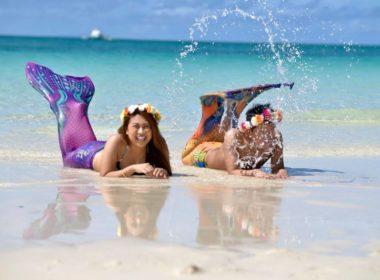 ボラカイ島にお越しの際は・・・マーメイドフォト(人魚姫)を